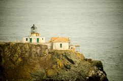 Point Bonita Lighthouse in Marin County, just outside of San Francisco. CA royalty free stock images