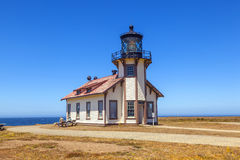 Point Cabrillo Lighthouse, Royalty Free Stock Photos