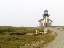 Point Cabrillo Lighthouse. Mendocino County, California stock photos