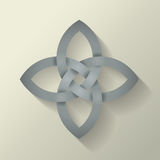 4 Point Celtic Knot Stock Photo