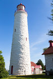 Point Clark lighthouse, Ontario Canada Stock Images
