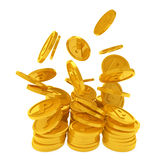 Point coins Royalty Free Stock Photography