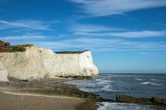 Point d'éclaboussure dans le Sussex Images stock