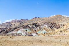 Point d'artistes le long de la commande d'artistes, Death Valley Photographie stock