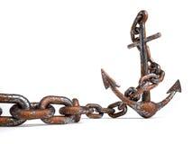 Point d'attache rouillé illustration libre de droits