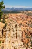 Point d'inspiration chez Bryce Canyon National Park, Utah Photos stock