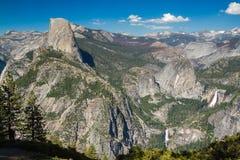 Point d'Olmstead, parc national de Yosemite, la Californie, Etats-Unis Images stock
