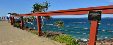 Point Danger Lookout - Tweed Heads Queensland Australia Stock Photo