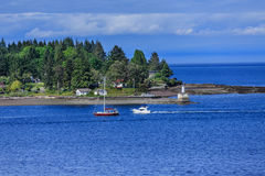Point dans Nanaimo Photo stock