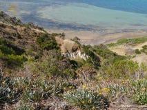 Point de Béatrice sur l'île de kangourou Photographie stock