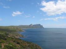 Point de cap, Afrique du Sud Photos stock
