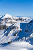 Point de Chesery. Portes du Soleil, France Royalty Free Stock Images