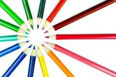 Point de crayon Photographie stock