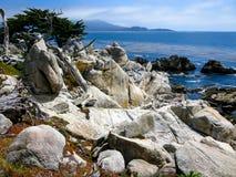 Point de Cypress, Pebble Beach CA Photographie stock libre de droits