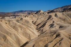 Point de Death Valley et de Zabriskie Photos libres de droits