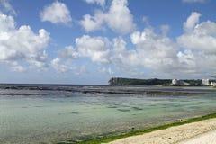 Point de deux amants en Guam Photographie stock