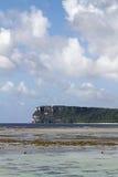 Point de deux amants en Guam Image libre de droits
