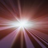 Point de disparaition d'étoile instantanée Photo stock