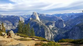 Point de glacier, parc national de Yosemite photographie stock libre de droits