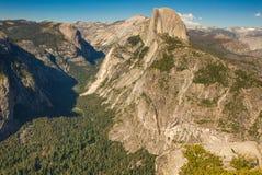 Point de glacier, parc national de Yosemite, la Californie, Etats-Unis Photographie stock libre de droits