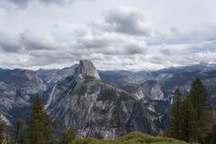 Point de Glaciier, Yosemite Photos stock