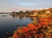 Point de Kittey, Maine Images stock