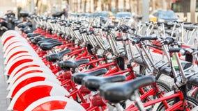 Point de loyer de bicyclette Images libres de droits