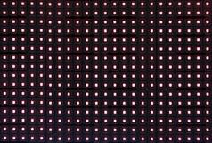 Point de lumière rouge Photos stock