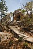 Point de lune de miel, bâti Abu, secteur de Sirohi, Ràjasthàn, Inde image stock