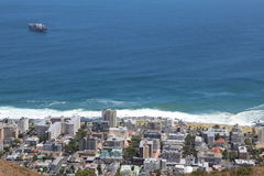 Point de mer, Capetown, Afrique du Sud Images stock