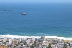 Point de mer, Capetown, Afrique du Sud Photo libre de droits