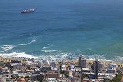Point de mer, Capetown, Afrique du Sud Image libre de droits