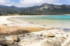 Point de pantalons, île de Flinders, Tasmanie, Australie Image stock
