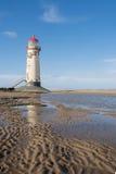 Point de phare d'Ayr Image libre de droits