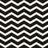 Point de polka sans couture avec le modèle de zigzag de chevron Rayure géométrique avec des cercles Juste baisse aux échantillons illustration libre de droits