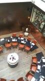 Point de rencontre épicurien de café de Paris Photo libre de droits