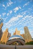 Point de repère célèbre et beau de faisceau Chicago photos libres de droits