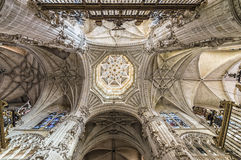 Point de repère d'Espagnol de Burgos Cathedral Photo stock