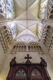 Point de repère d'Espagnol de Burgos Cathedral Photos stock