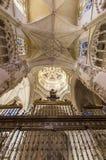 Point de repère d'Espagnol de Burgos Cathedral Image libre de droits