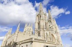 Point de repère d'Espagnol de Burgos Cathedral Point de repère espagnol célèbre Images stock