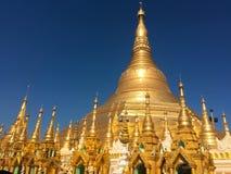 Point de repère de chedi de Yangon Maha Image libre de droits