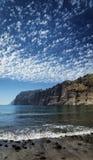 Point de repère de falaises de gigantes de visibilité directe en île du sud Espagne de Ténérife photographie stock libre de droits