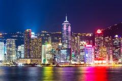 Point de repère de Hong Kong Photo stock