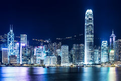 Point de repère de Hong Kong Photo stock