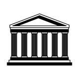 Point de repère de l'Italie de Panthéon illustration de vecteur