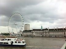 Point de repère de l'oeil de Londres Photographie stock
