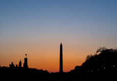 Monument de Washington Photographie stock