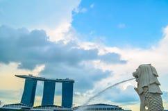 Point de repère de Singapour Image libre de droits