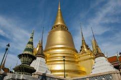 Point de repère de tradition de la Thaïlande, palais grand images libres de droits